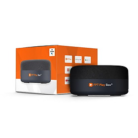 FPT Play Box S – Smart Tivi Box kết hợp Loa tiếng Việt - Hàng Chính Hãng