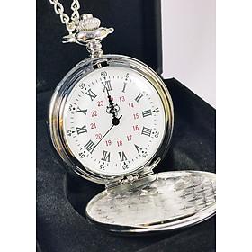 Đồng hồ quả quýt INOX trơn: Thiết kế hoài cổ - Lịch lãm