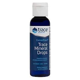 Tinh chất Trace Minerals Concentrace cung cấp khoáng chất 59ml Nhập Khẩu Mỹ