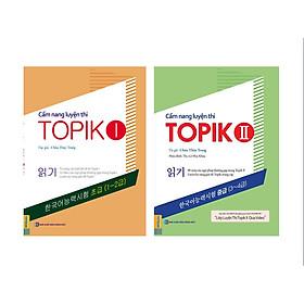 Combo Trọn Bộ 2 Cuốn Cẩm Nang Luyện Thi Topik 1 Và Topik 2 (Tặng Kèm Sổ Tay 1000 Từ Vựng Thường Gặp Trong Đề Thi Topik)
