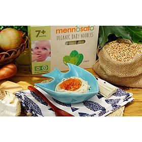 Mì ăn dặm hữu cơ cho bé vị bông cải xanh 200g MenNoSato