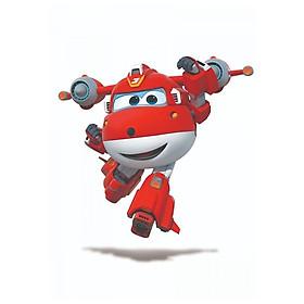 Đồ Chơi Robot Biến Hình Cỡ Lớn Jett Siêu Cấp YW740283