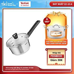 Quánh inox đế từ Tefal Simpleo B9052395 18cm - Hàng chính hãng