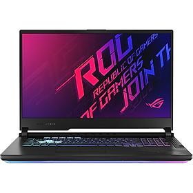 Laptop Asus ROG Strix G17 G712L-VEV055T (Core i7-10750H/ 16GB DDR4 2933MHz/ 512GB SSD PCIE G3X4/ RTX 2060 6GB GDDR6/ 17.3 FHD IPS, 144Hz/ Win10) - Hàng Chính Hãng