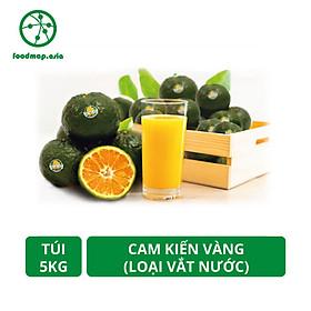 Cam Kiến Vàng Vĩnh Long - Vắt Nước (7-8 quả/kg) - Túi 5kg - Đặc Sản Ngon Lành - Foodmap