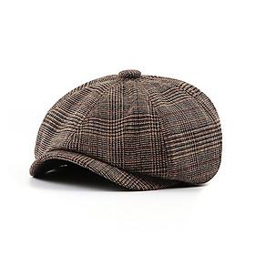 Mũ bát giác nam Jamont phong cách Vintage BR079