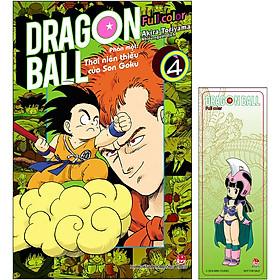 Dragon Ball Full Color - Phần Một: Thời Niên Thiếu Của Son Goku - Tập 4  (Tặng Bookmark)