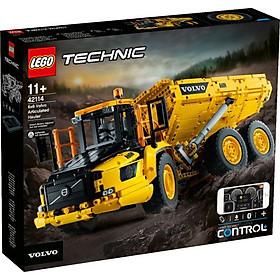 Đồ chơi lắp ráp mô hình LEGO TECHNIC ALL Xe tải khung động Volvo Hauler 42114