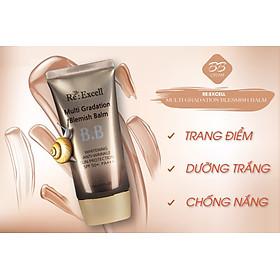 Combo trang điểm Daily Beauty gồm Phấn nước CC Cushion + 4 thỏi son lì Re:Excell Lipstick + kem nền BB cream R&B Việt Nam nhập khẩu chính ngạch Hàn Quốc-10