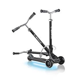 Xe trượt scooter 3 bánh GLOBBER ULTIMUM LIGHTS cho trẻ em từ 5 tuổi - Xám