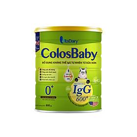 Sữa non COLOSBABY 600 IgG 0+ (800G)