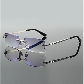 Kính lão thị viễn thị trung niên g�ng khoan nam tính chống bức xạ kv4n