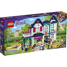Đồ chơi LEGO Friends Biệt Thự Gia Đình Của Andrea 41449