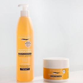 Combo dầu gội và ủ tóc Byphasse Keratin