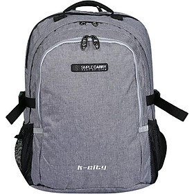 Balo Simplecarry K-City M Grey 0022412 (44 x 28 cm) - Xám