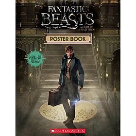 Harry Potter: Fantastic Beasts And Where To Find Them (Paperback) Poster Book (Sinh vật huyền bí và nơi ra chúng) (English Book)