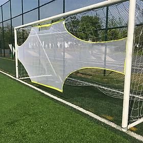 Football Net Goal Practical Yellow White 5 Person System Ball Sports Goalkeeper-6