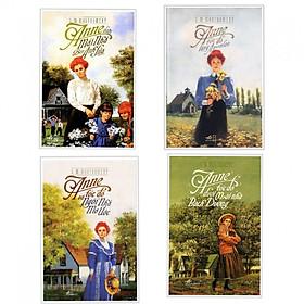 Combo 4 cuốn Anne Tóc Đỏ Làng Avonlea+ Anne Tóc Đỏ Và Ngôi Nhà Mơ Ước+ Anne Tóc Đỏ Dưới Mái Nhà Bạch Dương+Anne Dưới Mái Nhà Bên Ánh Lửa ( Tặng kèm bookmark thiết kế Phương Đông)