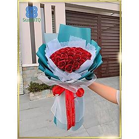Hoa Sáp Bó Hoa Hồng Sáp Đỏ