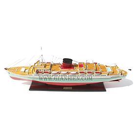 Thuyền gỗ trang trí RMS CARONIA