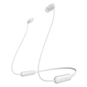 Sony (SONY) WI-C200 wireless in-ear stereo headset mobile phone headset neck hanging wire control white