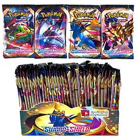 Bộ Thẻ Bài Pokemon 324 Thẻ Trading Card Game Swoad & Shield TCG Sưu Tập Đẹp Đọc Đáo