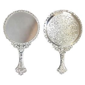 Gương cầm tay công chúa hình tròn S08 - KBOX1998