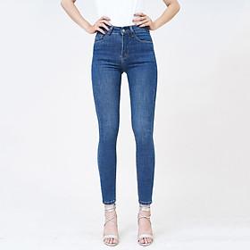 Quần Jean Nữ Pha Tơ Nhân Tạo Lưng Cao Dáng Skinny Aaa Jeans - UCSD Rayon Có Nhiều Màu Size 26 - 32