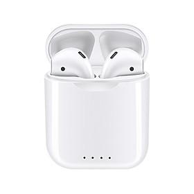 i88 TWS Bluetooth 5.0 Earphone Mini Wireless Earpod Touch Earbuds Earphones for iPhone Andorid - white