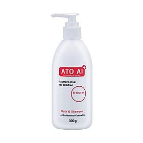 Sữa tắm gội toàn thân chiết xuất từ thiên nhiên dành cho mẹ ATO AI 300g