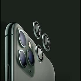 Bộ Ống Kính Cường Lực Camera Đơn Chống Lóa Phù Hợp Cho Dòng Máy iPhone 11 Pro/ iPhone 11 Pro Max -HÀNG CHÍNH HÃNG - DIGKING