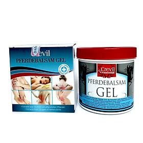 Crevil Pferdebalsam Gel, massage trị liệu giảm đau, nhức mỏi khớp