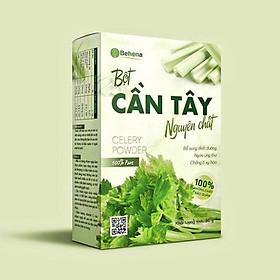 Bột cần tây sấy lạnh Behena - Túi 50gr - Nguyên chất - Giảm cân, thải độc, thanh lọc cơ thể hoàn toàn tự nhiên