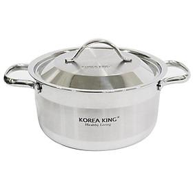 Nồi Inox Korea King KSC-203PL - Hàng chính hàng