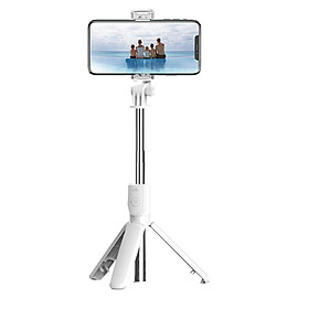 BT Selfie Stick Foldable Tripod 360° Rotation Multi-functional Handheld Adjustable Mobile Phone Holder for Taking