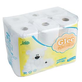 Giấy vệ sinh Glee 12 cuộn có lõi 2 lớp