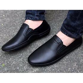Giày lười nam chất liệu da cao cấp, giày tây phong cách lịch lãm
