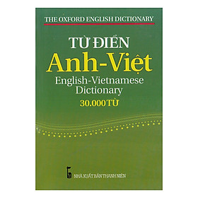 Từ Điển Anh - Việt (30.000 Từ)