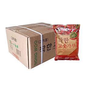 Thùng 10 Gói Ớt Bột Mịn Hàn Quốc CHACKHAN - NONG WOO