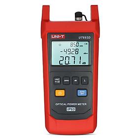 UNI-T UT692G Optical Power Meter Handheld Fiber Optic Power Meter with Backlight Flashlight