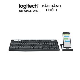 Bàn phím logitech K375S (Màu đen) - Hàng Chính Hãng