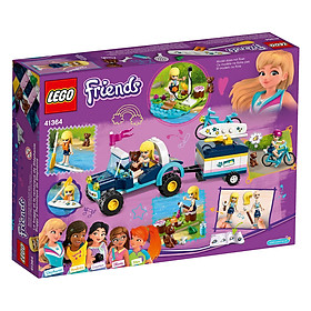 Mô hình Lego Friends - Xe Dã Ngoại Kèm Vali Kéo Của Stephanie 41364