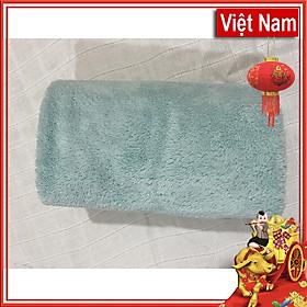 Khăn Gội Đầu Lông Cừu Cao Cấp Karina Size 35 x 75cm- Hàng Việt Nam