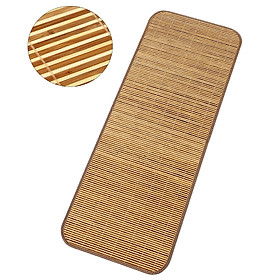 Natural Bamboo Mat Summer Foldable Bamboo Mat Summer Cooling Bed Sheet Cover Meditation Mat for Indoors Outdoors