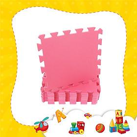 Thảm xốp lót sàn cho bé - đơn màu (10 miếng, diện tích 1m2) Smile Puzzle _KHÔNG MÙI TIÊU CHUẨN CHÂU ÂU