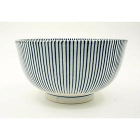 Bát Ceramic Men Lam Sọc Dọc Cao Cấp - Nội Địa Nhật Bản