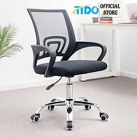 Ghế xoay văn phòng, ghế lưới xoay học sinh - Lắp sẵn - Chính hãng TIDO