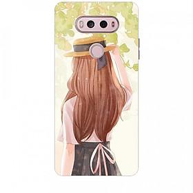 Ốp lưng dành cho điện thoại LG V20 Phía Sau Một Cô Gái