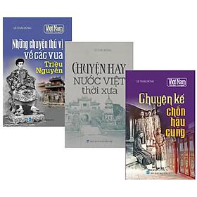 Combo Sách Kể chuyện lịch sử Việt Nam (Bộ 3 cuốn)