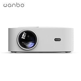 Máy Chiếu OSD Wanbo X1 1080P LCD Ống Kính Hình Ảnh Sắc Nét Bằng Kính Chiếu Sáng Không Dây Có Độ Ồn Thấp